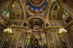 Saint Isaac (xiuzhu88) Tags: travel saint cathedral russia isaac paintings petersburg baroque