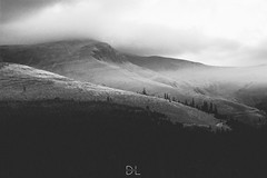 Raise the light (Lehelfoto) Tags: morning travel light summer sky blackandwhite mountains cold beautiful clouds sunrise landscapes romania transalpina