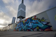 Jiroe (4foot2) Tags: street graffiti seaside brighton paint can spray ha graff seafront spraycan 2015 heavyartillery jiroe brightongraffiti brightongraff heavyartillerygraffiti 4foot2 jiroegraffiti 4foot2flickr 4foot2photostream fourfoottwo