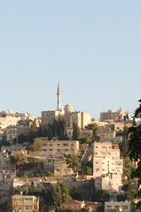 Abu Darwish Mosque from Jebel Amman (1) (jrozwado) Tags: asia amman middleeast mosque jordan islamic circassian   abudarwish