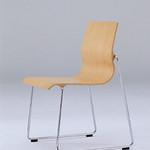 肘なし椅子の写真