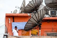 The phone call, Delhi, India, 2012 (Fabionik) Tags: india delhi 2012