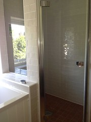 Fully Tiled shower cubicle