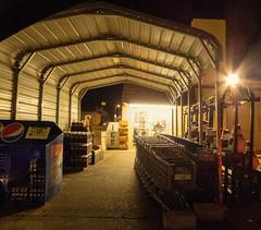 Shed Area (Nicholas Eckhart) Tags: ohio usa retail america vintage us supermarket oh grocerystore stores kroger 2015 mcconnelsville oldestkroger vintagekroger smallestkroger