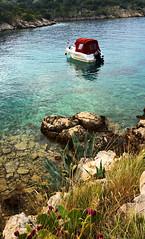 Private beach on Pag island (ScotchBroom) Tags: croatia pag adriatic adriaticsea hrvatska novalja croatianislands pagisland