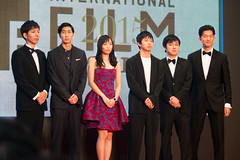 """Casts & Crew from """"Tokyo Sunrise"""" at Opening Ceremony of the 28th Tokyo International Film Festival"""
