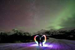 Heart (wolphcry) Tags: alaska aurora valdez northernlights thompsonpass