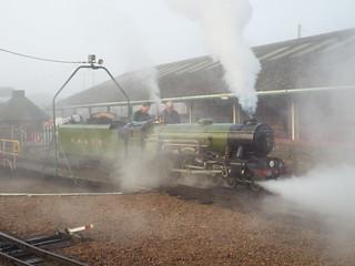 1925 Great Northen outline 4-6-2 Pacific Locomotive No.1 - Green Goddess