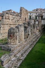 Otigia-Siracusa, Italy! (Flavio~) Tags: day2 italy sicily templeofapollo oct2015 syracusaortigia