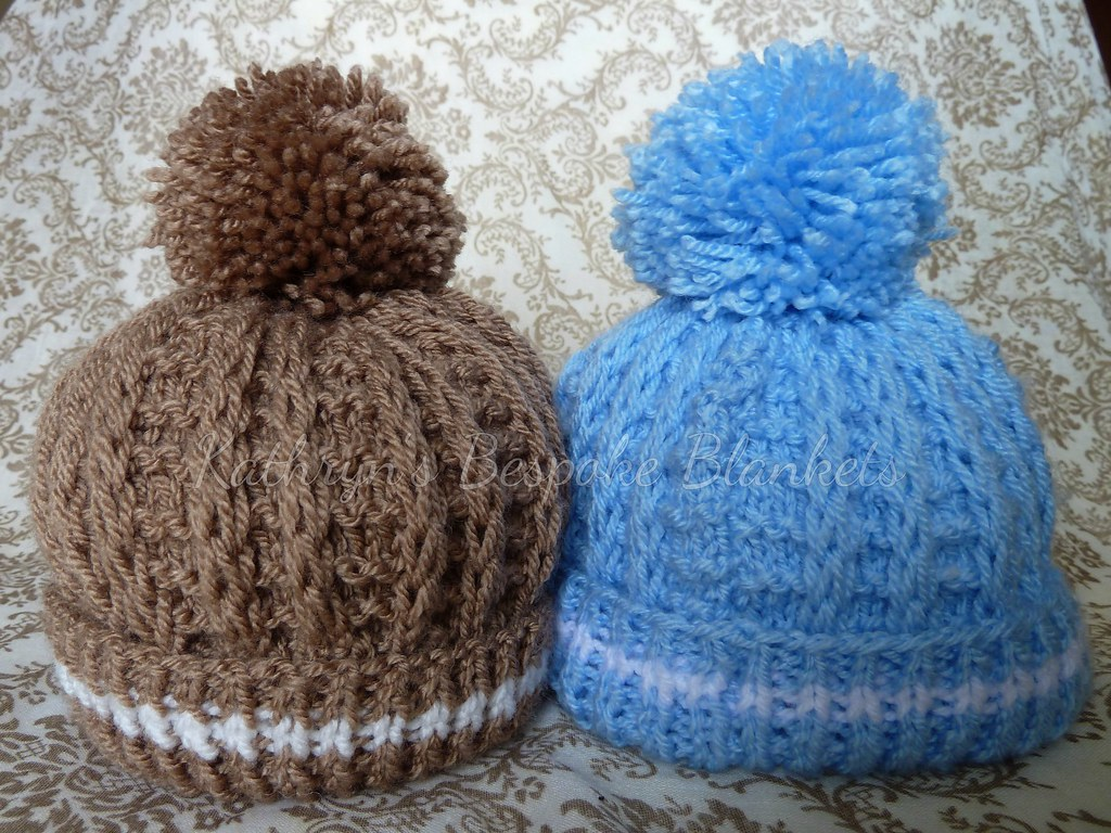 d49c0bc56cc Frankie bobble hat (Kathryn s Bespoke Blankets) Tags  baby hat knitting  handmade crochet knit