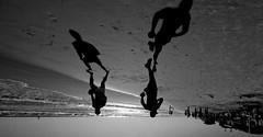 running on the beach - Tel-Aviv (Lior. L) Tags: travel light blackandwhite beach silhouette canon israel blackwhite telaviv mediterranean shadows action silhouettes sigma wideangle running beaches activity canondslr mediterraneansea actionshot ultrawideangle sigma1020 canon600d travelinisrael canont3i canonkiss5 runningonthebeachtelaviv