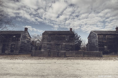 Dustbowl (danielritchiephoto) Tags: old travel sky house building broken beautiful beauty architecture clouds dark landscape lost town newjersey village cloudy outdoor decay explorer nj wideangle creepy explore sombre fallen haunting exploration filthy ghostly somber cloudporn darkphotography batsto grimy lostplace beautyindecay