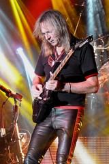 Judas Priest - Glenn Tipton (AMKs_Photos) Tags: november music rock metal canon lumix photography scotland concert glasgow glenn ballroom priest heavy 24th judas s90 tipton judaspriest barrowland amk 2015 amksphotos 241115