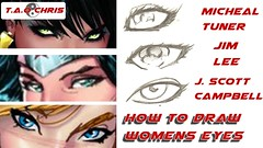 How to Draw Womens Eyes | Different Styels | Jim Lee JScottCampbell Michael Turner (TaoChris) Tags: michael eyes different jim womens lee how draw | jscottcampbell styels taochris turnercomics