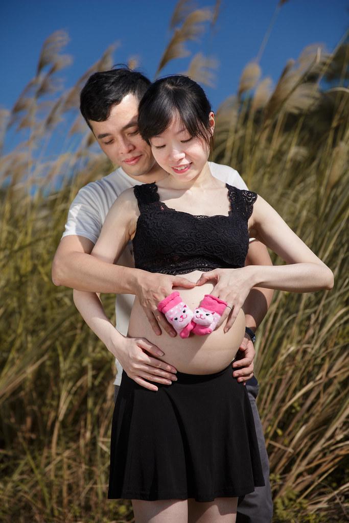 孕婦寫真,孕婦攝影,樹林孕婦,芒草孕婦,草原孕婦,Ajax&Far170
