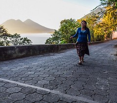 Day 248. This is the greatest place for morning walks. There are huge hills to get the heart pumping and views to keep you motivated. The only sounds are birds flicking overhead and the occasional puttering tuk-tuk. And the people, even in the morning, ar