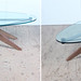 Mid-century Gothic coffee table