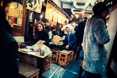 Ebisu Nostalgic Alleyway (Jon Siegel) Tags: nikon d810 sigma 24mm 14 sigma24mmf14art sigmaartlens 24mmf14 24mm14 people men women boys girls beautiful beauty interior secret lanterns chochin alleyway ebisu hidden party wild fun crazy night evening dining bars restaurants japan tokyo japanese