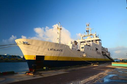 L'Atalante au port de Nassau