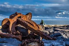 Povoacao's harbor (Alfredo Mateus Photography) Tags: povoação portugal azores smiguel port anchor sea ocean blue water fisherman clouds sky açores porto ancora mar oceano azul água pescador núvens céu harbor