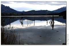 Hopfensee Allgäu (Mr.Vamp) Tags: lake see mrvamp allgäu eis wasser sonne eisschollen