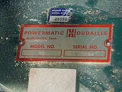 Model 30, serial number 430754 (simonov) Tags: powermatic houdaille disc sander model30 vintage machinery woodworking tools