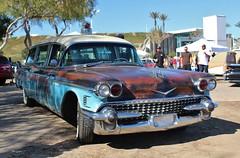 17th Annual Cruisin' for a Cure (USautos98) Tags: 1958 cadillac caddy caddie mm ambulance