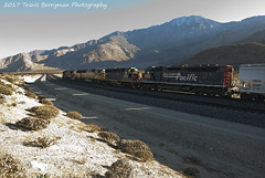 WCEC near West Palm Springs, CA (Travis Berryman) Tags: unionpacific beaumonthill uprr upyumasub desertrailroading