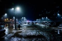 Brouillard nocturne sur Bruxelles (saigneurdeguerre) Tags: europe europa belgique belgium belgië belgien belgica bruxelles brussel brüssel brussels bruxelas street canon 7d mark ii 2 brouillard myst novoeiro nuit night nacht noite noche gel hiver winter invierno inverno verglas city cidade urban