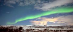 Reaching out (Iceland) (armxesde) Tags: pentax k3 ricoh iceland island winter night nacht nordlichter polarlichter northernlights polarlights aurora auroraborealis cloud wolke sky himmel