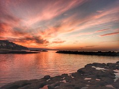 Happy New Year.. (lulythewitch17) Tags: sky hdr colors buonannonuovo 2017 travel viaggio italia calabria pizzo tramonto sunset happynewyear