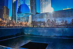 National 9/11 Memorial and Museum - New York City NY (mbell1975) Tags: newyork unitedstates us national 911 memorial museum new york city ny wtc worldtradecenter centre nyc manhattan lower usa american america pool water september september11