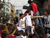 feast of black nazarene (DOLCEVITALUX) Tags: blacknazarene procession manila philippines rituals outdoor people mass multitude image statue devotion devout children hysteria superstition quiapo cathedralofstjohnthebaptist church cathedral