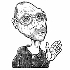 2017 self portrait (Don Moyer) Tags: ink drawing sketcbook moyer donmoyer selfportrait brushpen