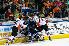 "Missouri Mavericks vs. Wichita Thunder, January 7, 2017, Silverstein Eye Centers Arena, Independence, Missouri.  Photo: John Howe / Howe Creative Photography • <a style=""font-size:0.8em;"" href=""http://www.flickr.com/photos/134016632@N02/32129246581/"" target=""_blank"">View on Flickr</a>"