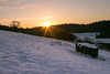 Pewley Downs in the snow (Digby-Jones Photography) Tags: pewleydowns snow winter sunrise lensflare sunburst landscape cold morning firstlight