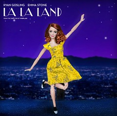 """""""Heres to the ones who dream"""" (They Call Me Obsessed) Tags: la land lalaland doll dolls barbie new ooak emma stone movie hollywood 2017 musical sing ryan reynolds"""