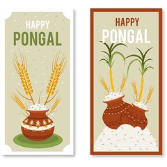 free vector Happy Pongal Day 14th January 2017 Banners Set (cgvector) Tags: 14thjanuary agriculture asian banana banner card celebration coconut colorful creative culture decoration design family farmer festival floral food fruit grain greeting happy health hindu holiday india indian mud pongal poster pot prosperity rangoli religious rice sankranti shiny south sugarcane sun sweet tamil thankful traditional flower illustration tradition vector wheat