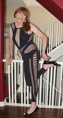 DSCF8602 (Rachel Carmina) Tags: cd tv ts tg trap tgirl trans transgender crossdresser femboi transvestite sexy legs heels
