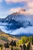 Mount Sneffels Fall Color (Travis Klingler (SivArt)) Tags: colorado ridgeway fallcolors sunrise danballard sneffels mountain