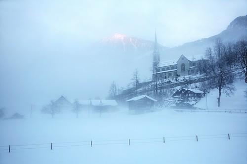 Lungern im Nebel