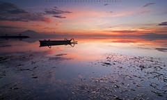 Karang Beach Sanur (Hafiz.Soyuz.Photography™) Tags: bali indonesia karang beach sanur travel jukong boat sunrise seascapes landscapes shore morning sun outdoor trip photography