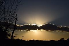 20170203_007_2 (まさちゃん) Tags: 夕暮れ時 雲 空 silhouette シルエット