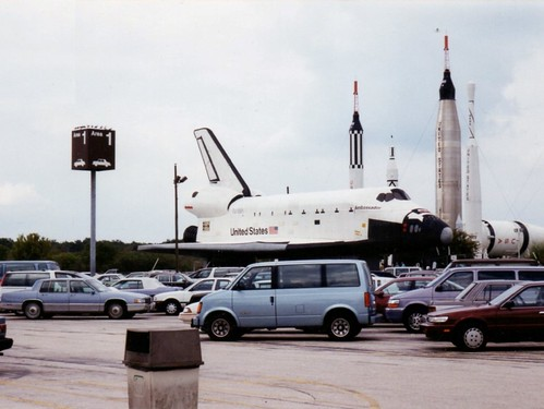 Kennedy Space Center Parking (1992)