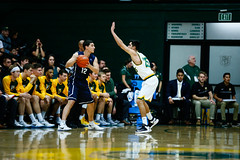 USF Basketball vs LMU 31 (donsathletics) Tags: usf mens basketball vs lmu 31 jordan ratinho college sports team university san francisco
