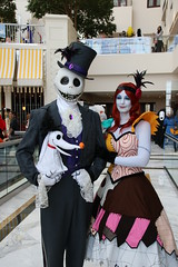 (Lady.in.Black) Tags: katsucon 2017 katsucon2017 oxonhill maryland potomacriver nationalharbor gaylordnationalhotel gaylord anime japaneseanimation animeconvention hotel conventioncenter cosplay costumes nightmarebeforechristmas
