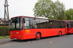 Grau Busreisen GmbH: Volvo 8700 LE HR-G 900 in Fritzlar am Bahnhof
