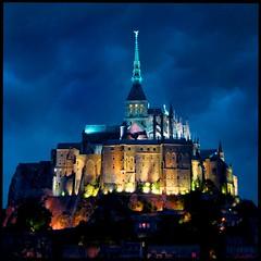 Mont St. Michel at night (angelofruhr) Tags: frankreich normandie supershot montstmichel
