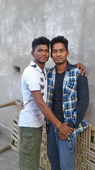 Chaitan and his frnd Bikash pic of 2016 (Chaitan Deep) Tags: hi am chaitan deep smartboy mandel gaon frnds calling chandu aamirianmad