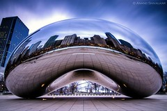 The Bean (Anand Shivalkar) Tags: chicago cloudgate thebean longexposure nikon tokina d7000 1120mm ultrawide
